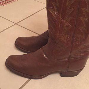 80746f7ce2b Super rare vintage HYER cowboy boots EVC 10.5D USA